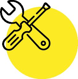 Modernste Werkzeuge